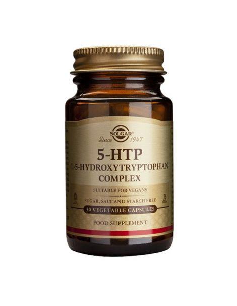 5-HTP (Hidroxitriptófano) Solgar - 30 cápsulas