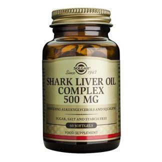 Aceite de Hígado de Tiburón Solgar - 60 perlas