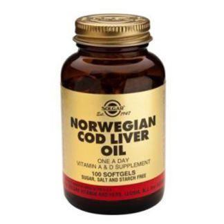 Aceite de Hígado de Bacalao Solgar - 250 perlas