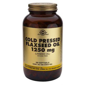 Aceite de Linaza Solgar - 100 perlas