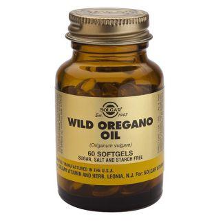 Aceite de Orégano Silvestre Solgar - 60 perlas