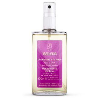 Desodorante de Rosa Weleda - 100 ml.