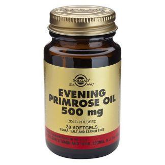 Aceite de Prímula (Onagra) 500 mg. Solgar - 30 perlas