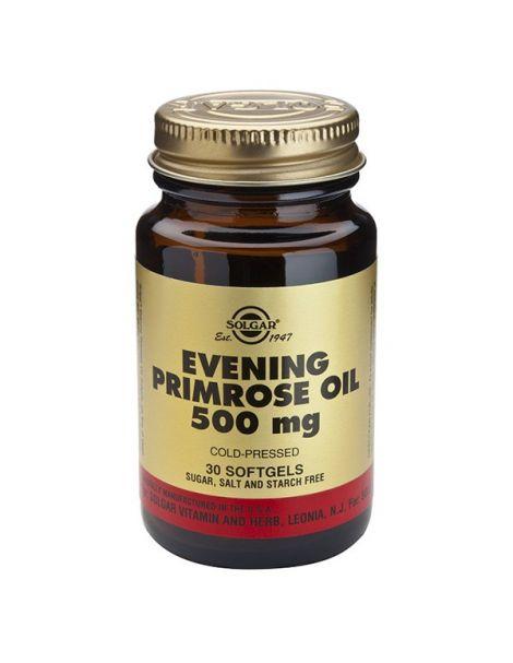 Aceite de Prímula (Onagra) 500 mg. Solgar - 180 perlas