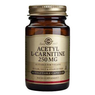 Acetyl L-Carnitina Solgar - 30 cápsulas