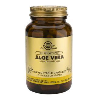 Aloe Vera Solgar - 100 cápsulas