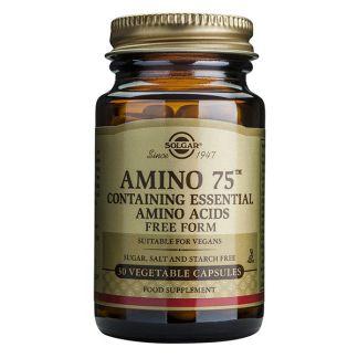 Amino 75 Solgar - 30 cápsulas