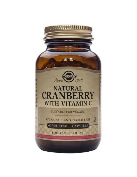 Arándano Rojo con Vitamina C Solgar - 60 cápsulas