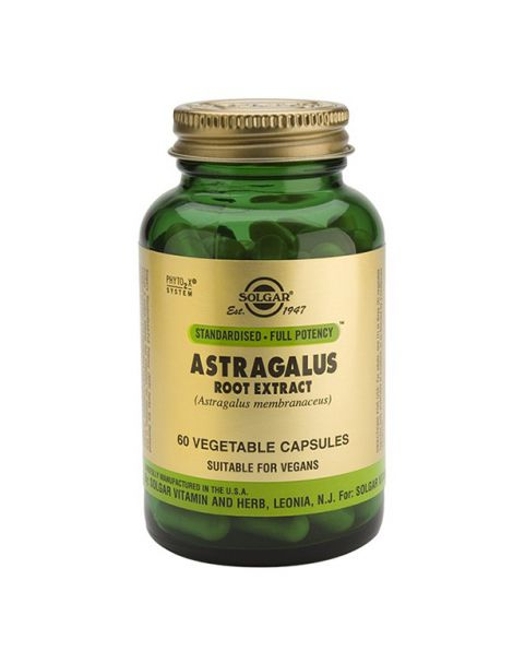 Astrágalus Extracto de Raíz Solgar - 60 cápsulas