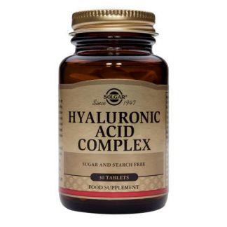 Ácido Hialurónico Complex Solgar - 30 comprimidos