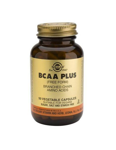 BCAA Plus Solgar - 50 cápsulas