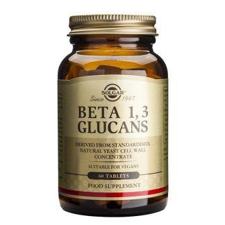 Beta 1,3 Glucanos Solgar - 60 comprimidos