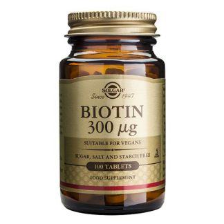 Biotina Solgar - 100 comprimidos