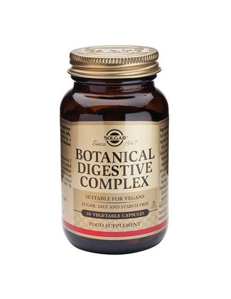 Botanical Digestive Complex Solgar - 60 cápsulas