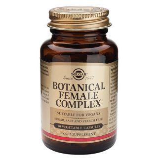 Botanical Female Complex Solgar - 30 cápsulas