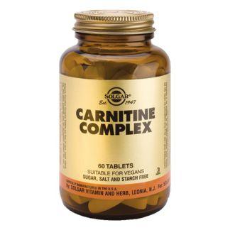 Carnitina Complex Solgar - 60 comprimidos