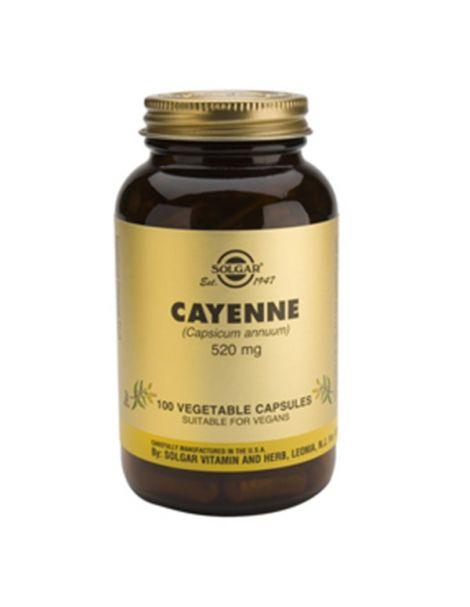 Cayena Solgar - 100 cápsulas