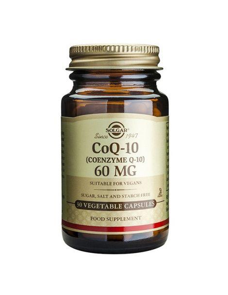 Coenzima Q10 60 mg. Solgar - 30 cápsulas