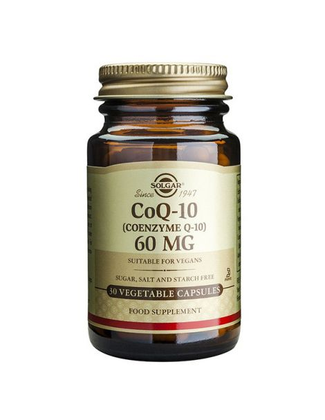 Coenzima Q10 60 mg. Solgar - 60 cápsulas