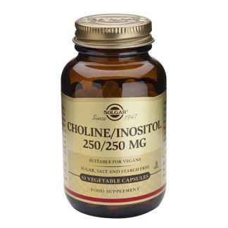 Colina Inositol Solgar - 50 cápsulas