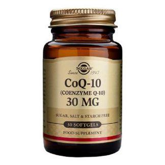 Coenzima Q10 en Aceite 30 mg. Solgar - 30 perlas