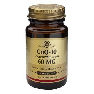 Coenzima Q10 en Aceite 60 mg. Solgar - 30 perlas