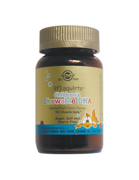 DHA Biopure Solgar - 90 cápsulas