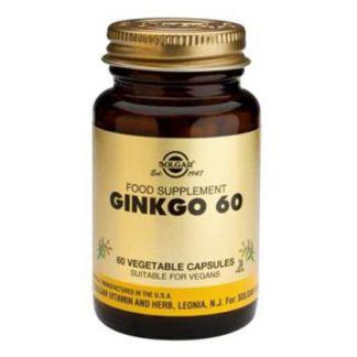 Ginkgo 60 Solgar - 60 cápsulas