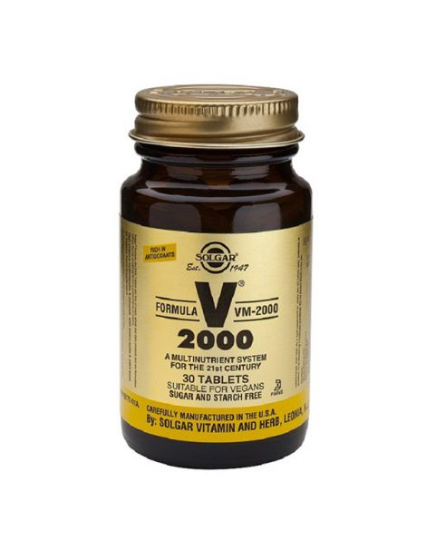 Fórmula VM 2000 Solgar - 180 comprimidos