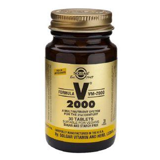 Fórmula VM 2000 Solgar - 30 comprimidos