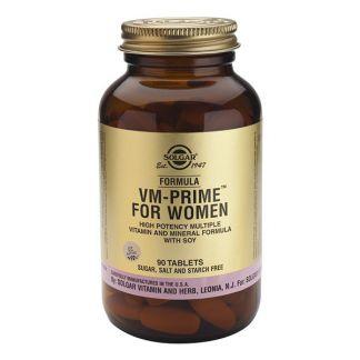 Fórmula VM Prime Women (Mujer) Solgar - 90 comprimidos
