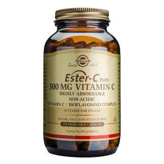 Ester-C Plus 500 mg. Solgar - 250 cápsulas