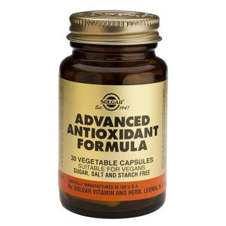 Fórmula Antioxidante Avanzada Solgar - 30 cápsulas