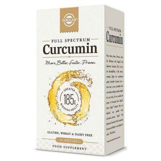 Full Spectrum Curcumina (Cúrcuma) Solgar - 30 perlas