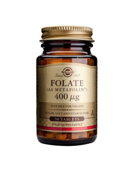 Folato (Metafolin) Solgar - 100 comprimidos