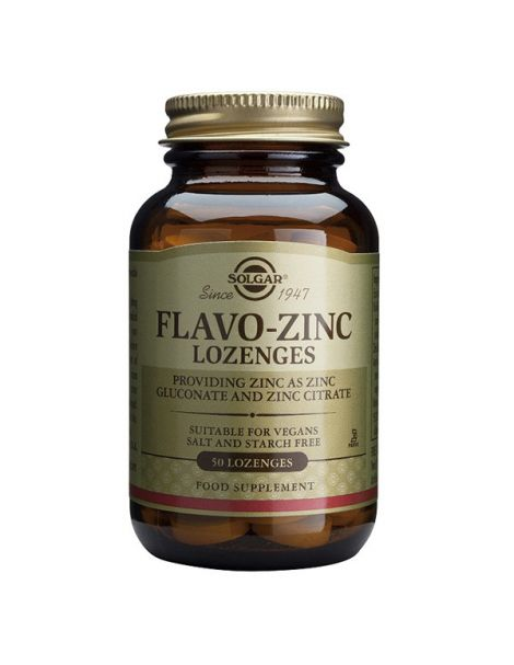 Flavo-Zinc Solgar - 50 comprimidos