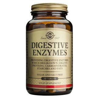 Enzimas Digestivas Solgar - 250 comprimidos
