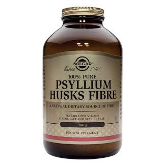 Fibra de Cáscaras de Psyllium Solgar - 280 gramos