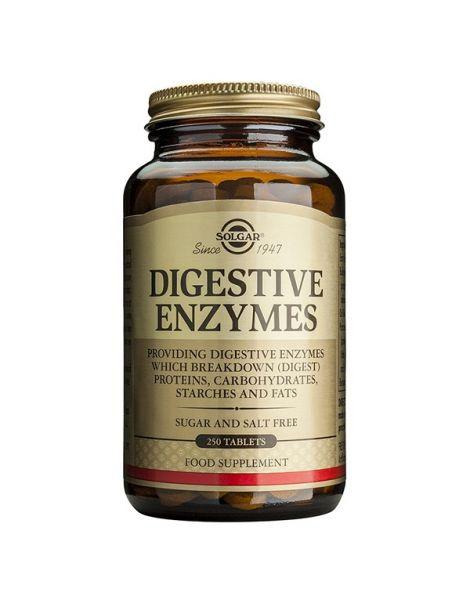 Enzimas Digestivas Solgar - 100 comprimidos