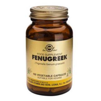 Fenogreco Solgar - 100 cápsulas