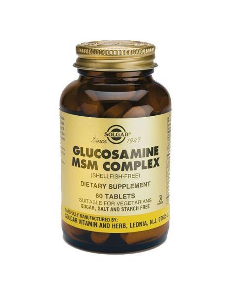 Glucosamina MSM Complex Solgar - 60 comprimidos