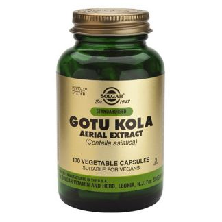 Gotu Kola Solgar - 100 cápsulas