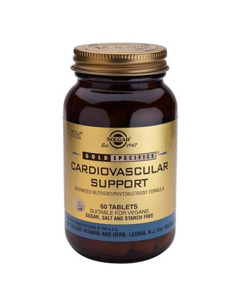 GS Cardiovascular Support Solgar - 60 comprimidos