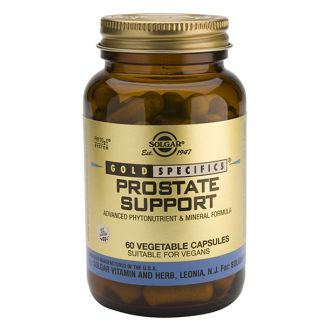 GS Prostate Support Solgar - 60 cápsulas