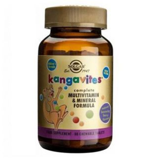 Kangavites Multi Frutas del Bosque Solgar - 60 comprimidos