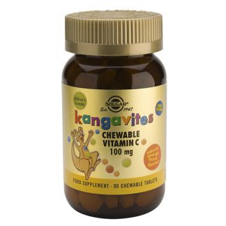 Kangavites Vitamina C Solgar - 90 comprimidos