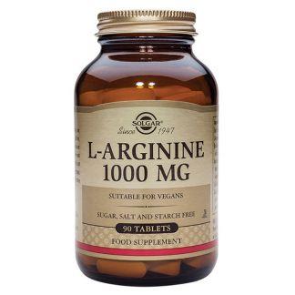 L-Arginina 1000 mg. Solgar - 90 comprimidos