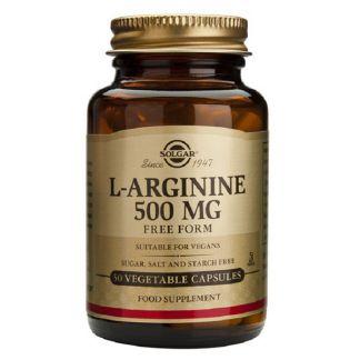 L-Arginina 500 mg. Solgar - 50 cápsulas