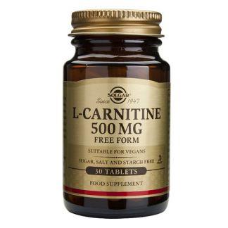 L-Carnitina Solgar - 30 comprimidos