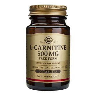 L-Carnitina Solgar - 60 comprimidos